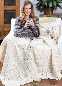 Wrap yourself up in this cozy Snow Bunny Crochet Blanket Pattern throw after a day spent outside in the snow. This V-stitch crochet blanket is just like the winter wonderland you always hope for.