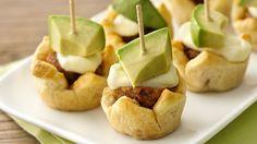 flaki crescent, turkey meatballs, cheesi meatbal, chipotle, crescent rolls, meatbal appet, recip, appetizers, chipotl meatbal