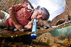 The Lifestraw: a drinking gadget that allows you to sip water from bodies of water while removing 99% of waterborne bacteria. With the ability to filter up to 1000L of water, the Lifestraw was named as the Time Magazine Invention of the Year