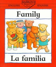 """Family - La familia"" by Clare Beaton {Bilingual - Spanis/English}"