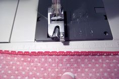DIY:  How to create a rolled hem.