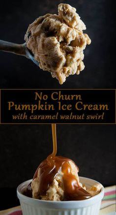 No Churn Pumpkin Ice