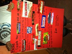 Going-to-college candy bar card