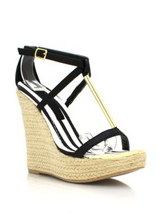 Show off that pedi in these espadrille wedges.