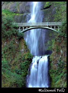 Multnomah Falls - Portland, Oregon  (Photo Credit: Creative Commons via Flickr by Sevela.p )