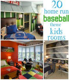 20 Home Run Baseball Theme Kids Rooms - Design Dazzle