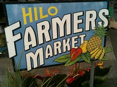 The #Hilo Farmers Market on #Hawaii, the #BigIsland. #cuisine #foodie