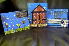The Hens Den: Happy Haunting Card Trio by Krystle Thomas using Graphic 45