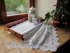 Текстиль, ковры ручной работы. Ярмарка Мастеров - ручная работа Салфетка прямоугольная. Handmade.