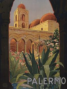Daughter Of The Golden West: Vintage Italian Travel Posters