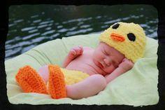 Duck baby