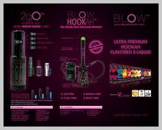 blow hookah, vape, smoke