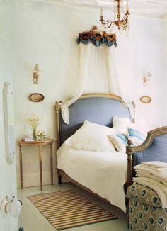 Very French bedroom