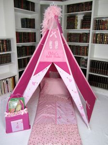 Handcrafted Play Tents for Children