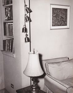 Some cool photos of home decor ideas with Bells of Sarna - check out the 50's furniture