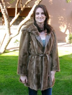 1970s London Leathers Lilli Ann faux fur and by Cherrybombsvintage, $75.00