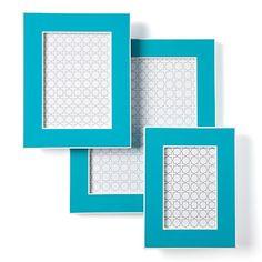 Gelato Frames - Aquamarine  $12.95  #zgallerie