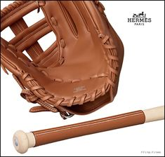 Hermes Baseball Glove and Bat Are Priced Out Of The Park at $16,000   http://www.ifitshipitshere.com/hermes-baseball-glove-bat-priced-park-16000/