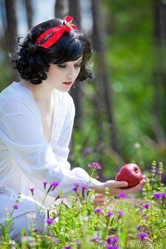 Snow white princess, fairi tale