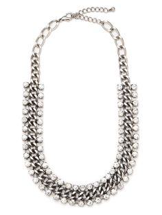 Our Silver Glitz Strand - perfect for layering, and oh so elegant!