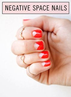 Negative Space Nails: Check out the How-To!