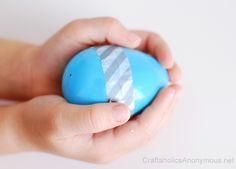 washi tape + Easter Eggs = love