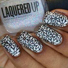 stamping nail art by