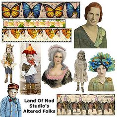 Free to use collage sheet- altered... by landofnodstudios