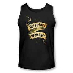 Harry Potter Mischief Managed Tank Top...