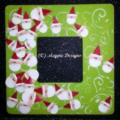 Santa frame from Megpie Design