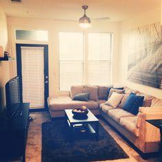 Comfy cozy apartment decor