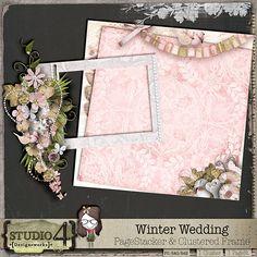 Winter Wedding - PageStacker & Clustered Frame DD