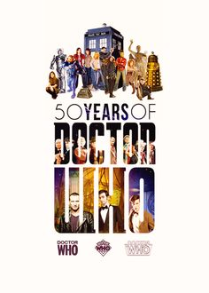 Doctor Who geek, allonsi, 50 year, doctor boss, 50th anniversari, doctor who poster, doctorwho, doctors, doctor who smith and jones