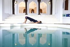 sasaabercise - getting fit in incredibly beautiful and exotic surroundings beats a smelly city gym anyway.