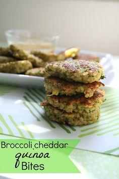 crab cakes, quinoa broccoli cakes, nifti cupcak, food, broccoli cheddar, cheddar quinoa, dipping sauces, quinoa bite, honey