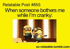 despicable me funny quotes, laugh, minions language, funni, relat post, cranki, minions funny quotes, despicable minions, true stories