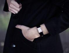a classic wristwatch
