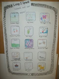 long-i ipad...kids make apps with titles that include the long-i sound. fun!