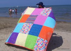 Maiden Jane: Big Beach Blanket Tutorial