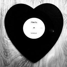 Heart Shaped Vinyl -