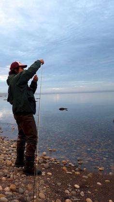 Fly Fishing @ Bordemundo B -  www.bordemundo.com #flyfishing #puertovaras #patagonia #chile
