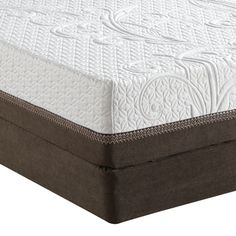 "The iComfort Directions Inception mattress by Serta is your path to a wonderful and restful night's sleep and features a plush comfort style. With an approximate mattress height of 11"", the Inception offers a 6"" ComfortLast Foam Core with the always popular Ultimate Edge Support design feature."