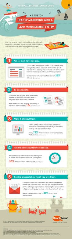 5 Ways to Turn Customer Leads Into Cash (Infographic)