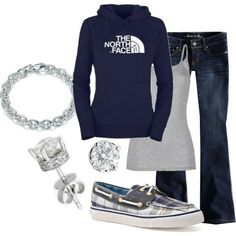 weekend outfit, day outfits, fall clothes, the north face, fall outfits, winter outfits, comfy casual, casual outfits, shoe