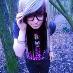 Emo hair