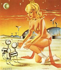 Retro futurismo Sci-Fi | Science Fiction vintage |