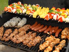 Grilled Skewers and