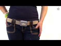 3D Printed LED Buckle with Adafruit's GEMMA!  #3Dprint #beltbuckle