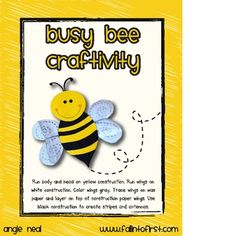 Grab this free BEE craft and tree map to supplement your science activities! Check out  blog at www.fallintofirst.com
