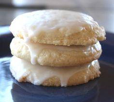 Barefeet In The Kitchen: Glazed Lemon Cookies
